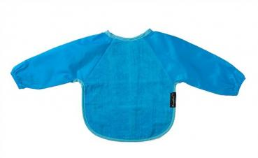 Sleeved Bib Blau 6-18 Mt.